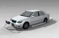 3d model car toyota brevis