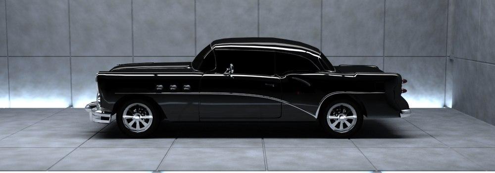 3d model buick car