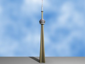 3dsmax cn tower
