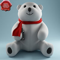 3ds max toy bear