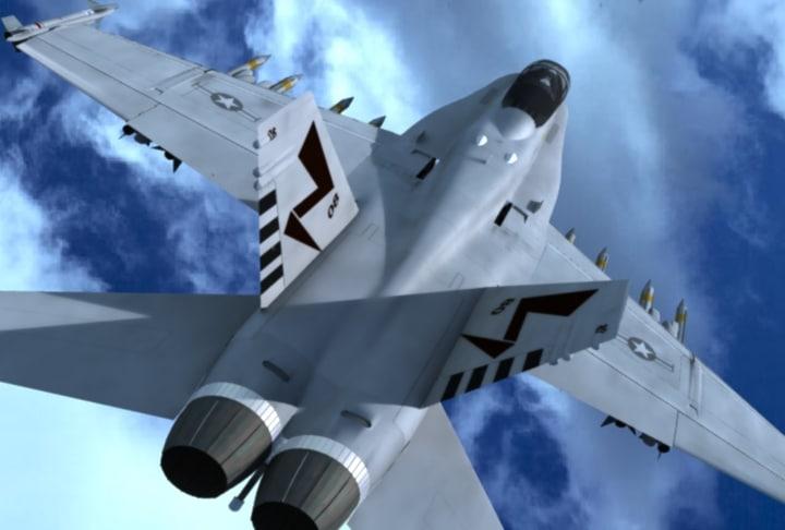 fa18e hornet fighter f a-18e max