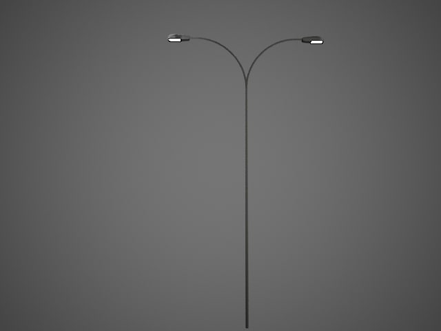 3ds max double roadway