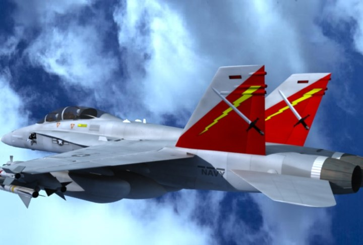 ea-18g airborne electronic attack 3d 3ds