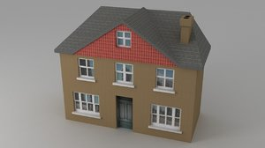 house real life 3d model