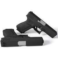 max glock 17 9mm handgun