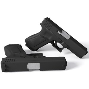 max glock 17 9mm handgun
