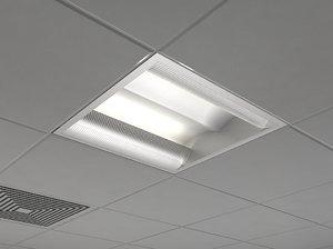 3d lighting industrial interior