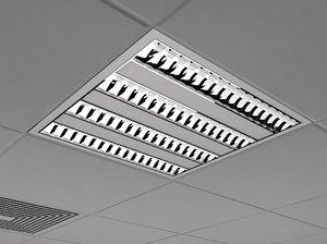 lighting 4x14w 3d model