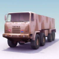 3ds czech tatra 8x8 transporting