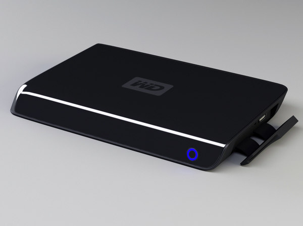 3ds max western digital