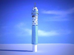 bt tower 3d 3ds