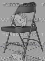 folding chairRigged.mb