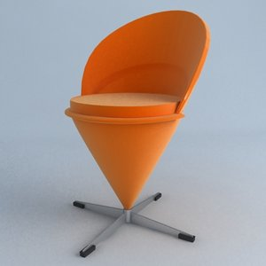 3ds cone chair