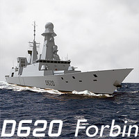 3d d620 horizon frigate french