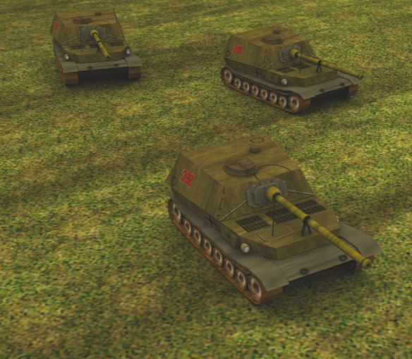 free elephant tank 3d model