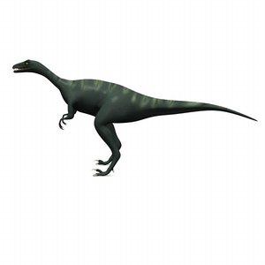 dinosaur eoraptor 3d max