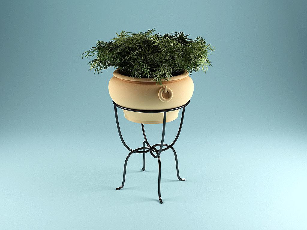 free plant 3d model