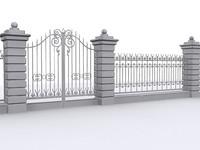 antique fence
