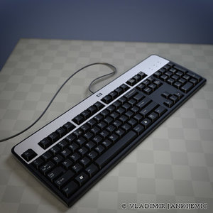 3ds hp standard key keyboard