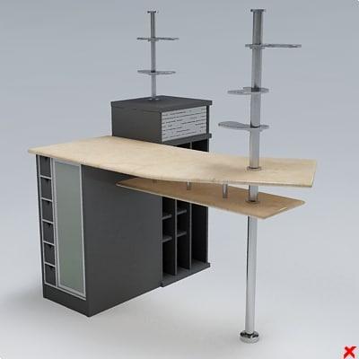 kitchen counter 3d max