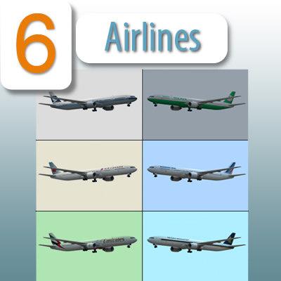 b 777-300 er airliner max