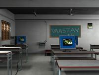 Class Room + hp desktop