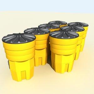 3d safety barrel
