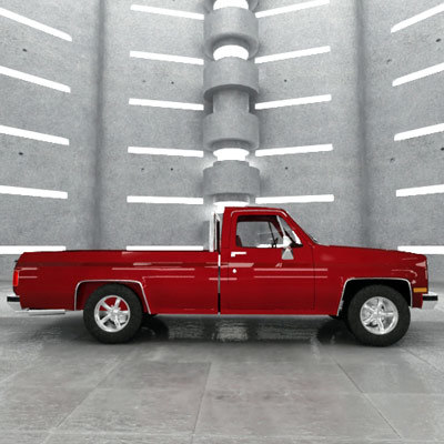 pickup size max