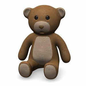 3ds teddy bear