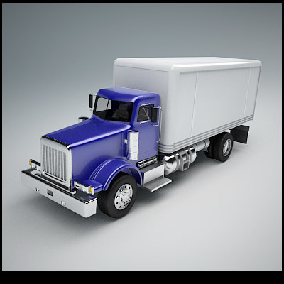 truck preview 3d 3ds