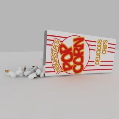 3dsmax corn package popcorn