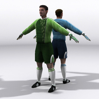 goalkeeper football soccer max