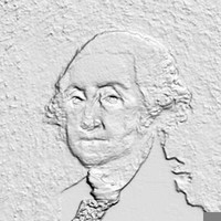 3d george washington