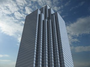 3d bank america plaza dallas