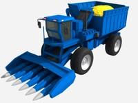 3d corn harvester