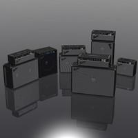 3d amps model