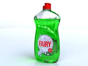 3d model fairy liquid