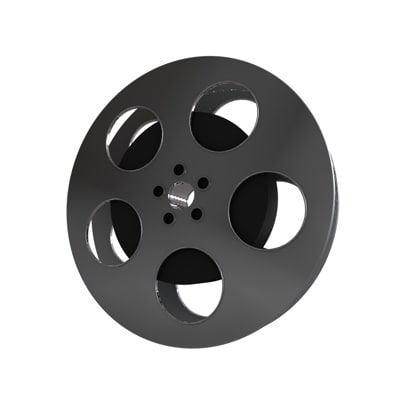 movie zipped 3d model