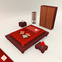 Japanese Bedroom Set