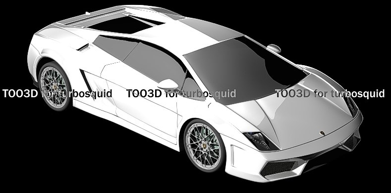 3d model lamborghini gallardo lp560-4