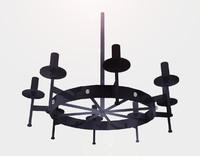 3d chandelier