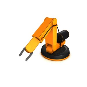c4d robot arm