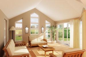 sunroom interior 3d model