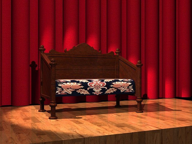 3ds max victorian couch