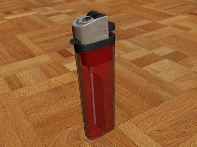 3d model lighter spark