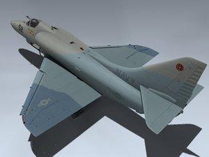 3d a-4e skyhawk gun