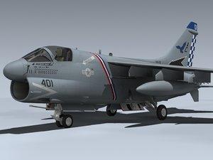 lwo a-7e corsair ii ac401