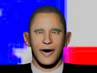 3d model of barack obama