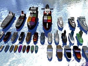boat ship 3d model