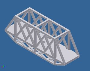 free 3ds model spegetti bridge